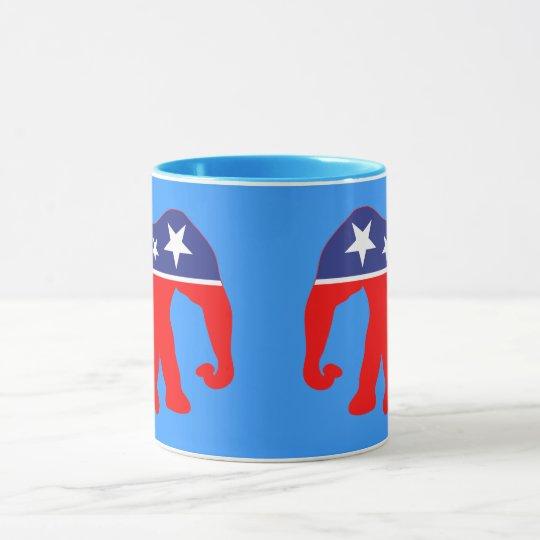 Modernized GOP Elephants Mug