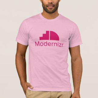 Modernizr Logo T-Shirt (Light Pink)