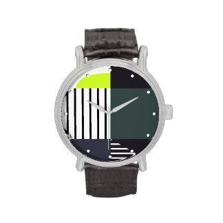 Moderno Color-Bloqueado Reloj