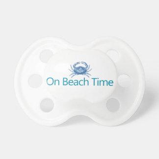 """Moderno """"el tiempo de la playa """" chupete"""