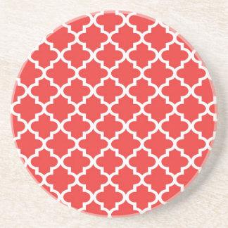 Moderno geométrico del modelo marroquí de la teja  posavasos diseño