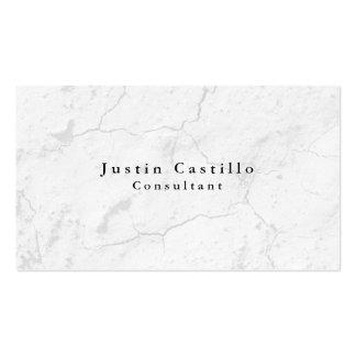 Moderno gris elegante llano simple tarjetas de visita