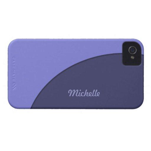 Moderno púrpura iPhone 4 cárcasas