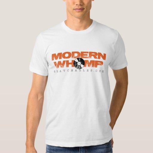 Moderno Whomp - Twofer escarpado, de largo Polera