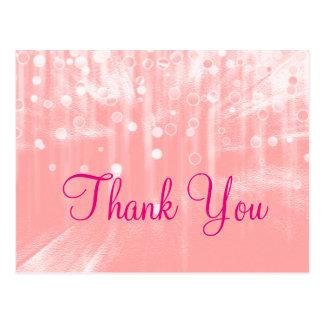 Modernos atractivos rosados de moda de Inexpensiv Tarjeta Postal