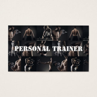 ModernPersonal Trainer Fitness Sport Business Card