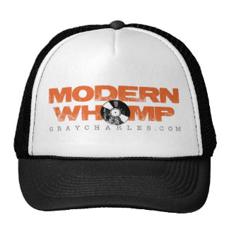 ModernWhomp - Black and White Trucker Hat