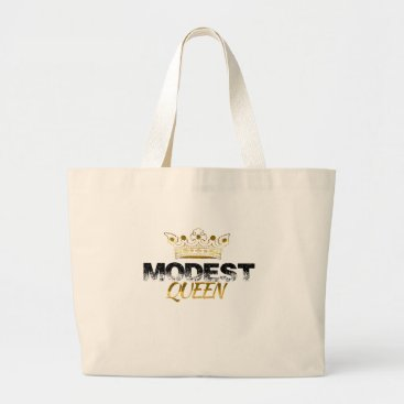 Beach Themed Modest Queen Large Tote Bag