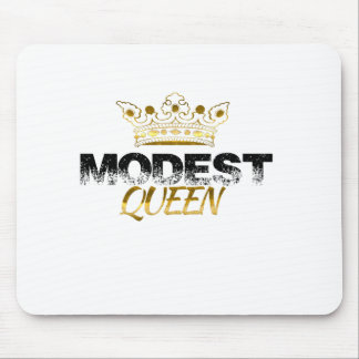Modest Queen Mouse Pad