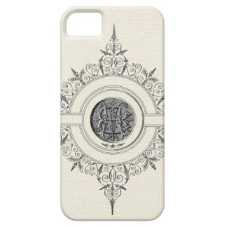 Modesto adornado del vintage iPhone 5 carcasas
