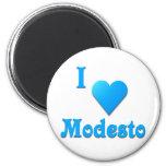 Modesto -- Azul de cielo Imán Para Frigorifico
