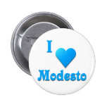 Modesto -- Azul de cielo Pins
