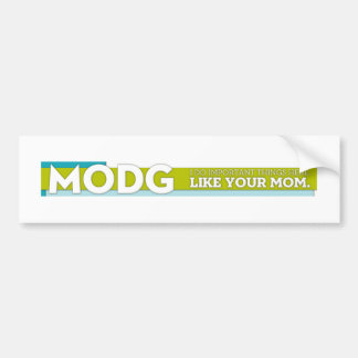 MODG bumber sticker Car Bumper Sticker