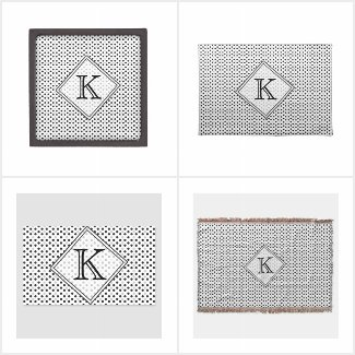 ModHome Monogramed Personalized Home decor
