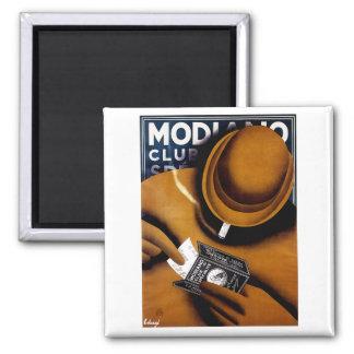 Modiano Cigarette Ad Magnet
