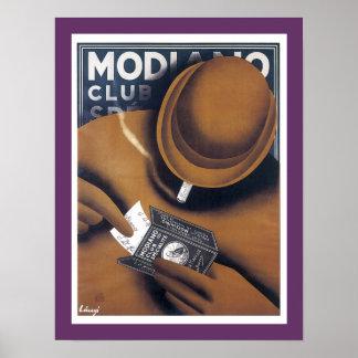 Modiano Cigarette Paper Advertisement Print