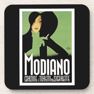 Modiano Cigarette Papers Beverage Coaster