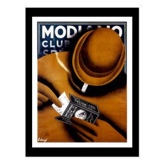 Modiano Cigarette Papers Postcard