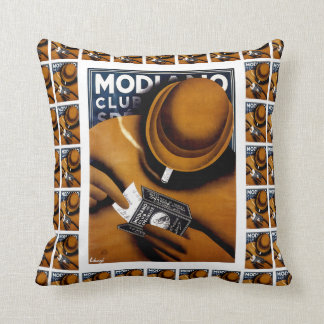 Modiano Cigarette Papers Throw Pillow