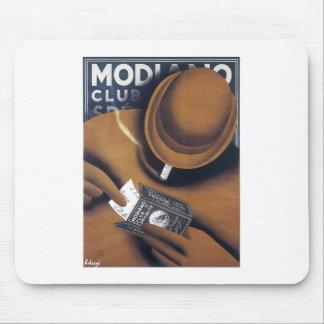 MODIANO Vintage Cigarette ad Art Poster print Mouse Pad