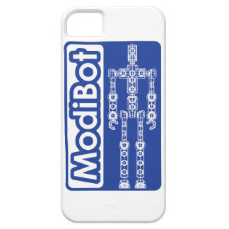 """ModiBot """"estructura sus los propios"""" figura de Funda Para iPhone SE/5/5s"""