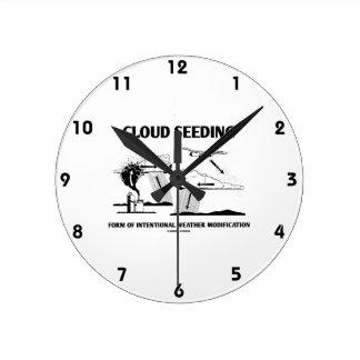 Modificación de tiempo intencional sembrada de la reloj de pared