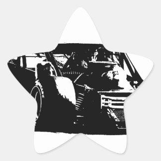 Modificado Pegatina En Forma De Estrella