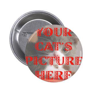 Modificó la foto de su gato para requisitos partic pins