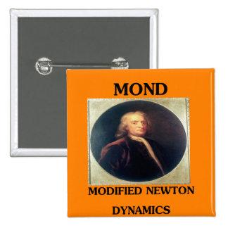modifie newtonian dynamics physics design pinback button