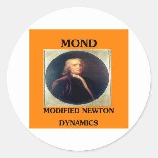 modifie newtonian dynamics physics design sticker