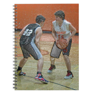 Modified Basketball Spiral Notebook