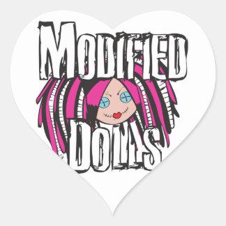Modified Dolls Heart Sticker