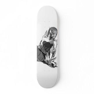 Modified Fae skateboard on Zazzle