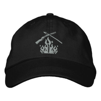 Modified Logo Embroidered 6 Panel Hat