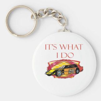 Modified Mustang Racing Car Keychain