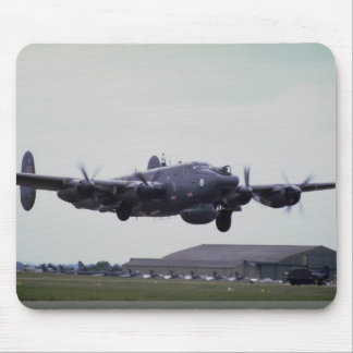 Modified Shakleton Bomber coming in to land Mouse Pad