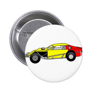 Modified Sportscar 2 Inch Round Button