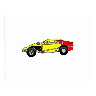 Modified Sportscar Postcard