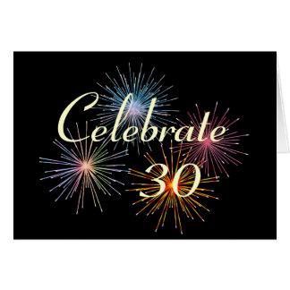 Modifique con cualquier Year~Celebrate un Tarjeta De Felicitación