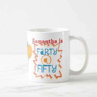 Modifique el 50.o regalo de la mordaza para taza de café