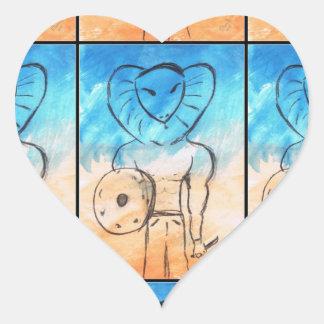 Modifique el producto para requisitos particulares pegatinas corazon