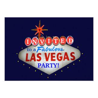 Modifique el signo positivo de Las Vegas para requ Comunicado Personalizado