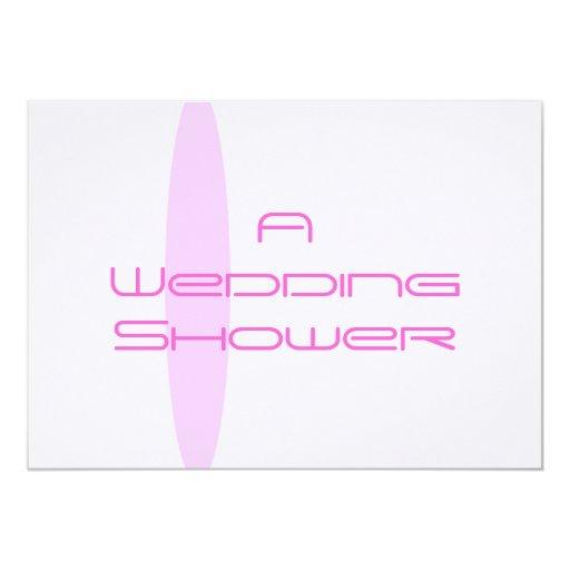 Modifique esta invitación enrrollada de la ducha invitación 12,7 x 17,8 cm