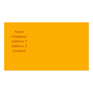 Modifique esta tarjeta de visita para requisitos p