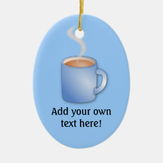 Modifique esta taza para requisitos particulares d ornamento de navidad