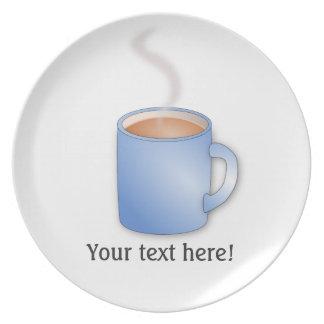 Modifique esta taza para requisitos particulares d platos