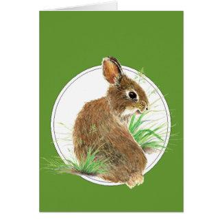 Modifique este conejo para requisitos particulares tarjeta de felicitación