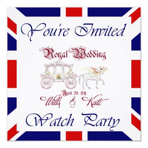 Modifique ESTE fiesta real del reloj para Invitacion Personal