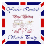 Modifique ESTE fiesta real del reloj para requisit Invitacion Personal