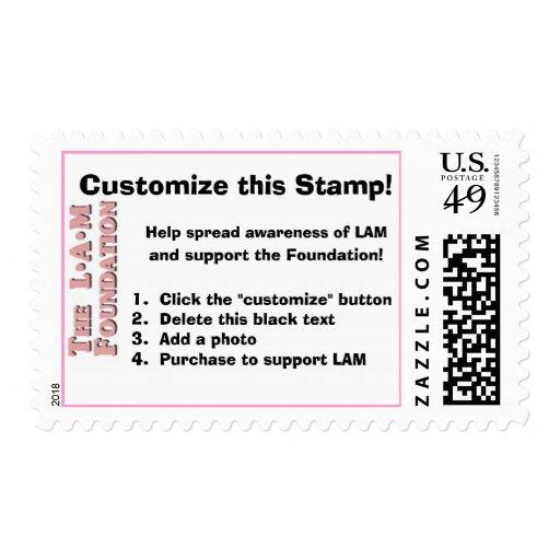 ¡Modifique este franqueo para requisitos Sello Postal
